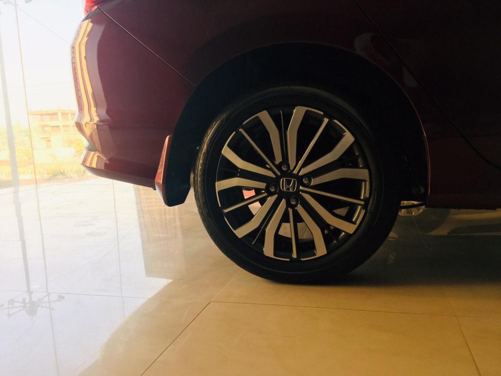 honda city wheels